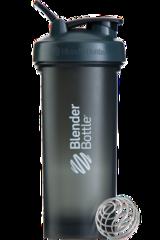 BlenderBottle Pro45,1330 мл Большой Шейкер с Шариком-Пружиной  1330 мл серый-белый