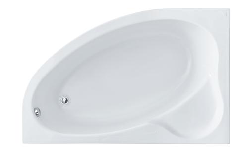 Эдера 170х110 L асимметричная белая 1WH111995