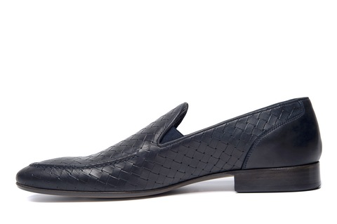 Кожаные туфли Goodman 54203 с плетением