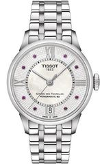 Женские часы Tissot T099.207.11.113.00 Chemin des Tourelles Powermatic 80 Lady