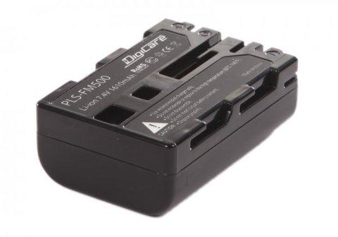 Аккумулятор DigiCare PLS-FM500 / NP-FM500H для Alpha SLT-A99, A57, A58, A65, A77