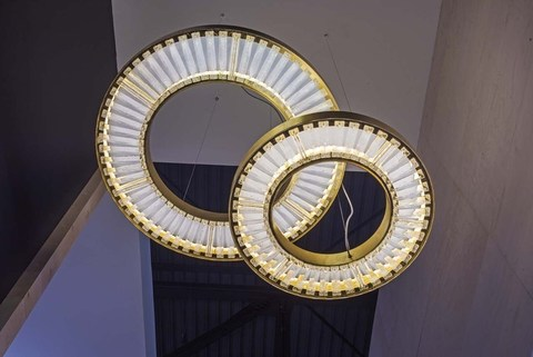 replica lighting Canopus  By MARCHETTI illuminazione ( 2 rings )