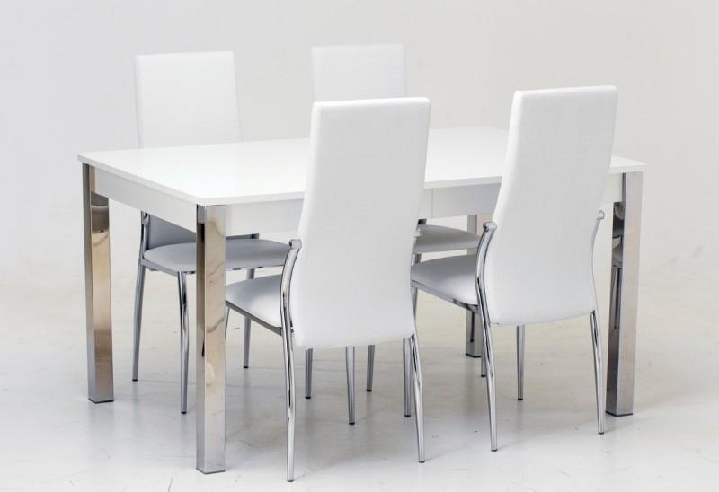 Подстолье белое/стекло белое (+4000)