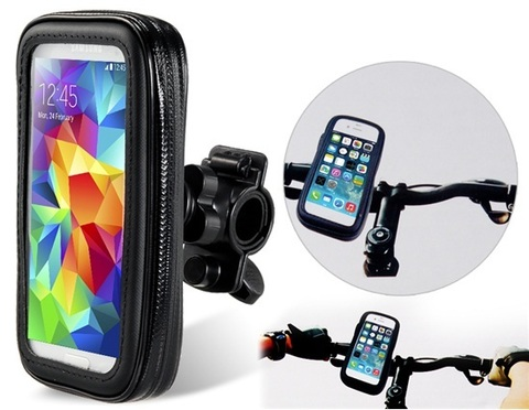Чехол для смартфона водонепроницаемый на вело/мото