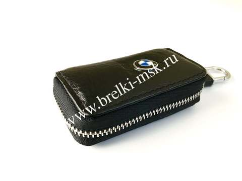 Ключница кожаная с логотипом BMW (БМВ)