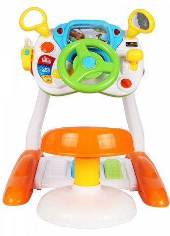 Интерактивная развивающая игрушка Huggeland «Умный водитель»