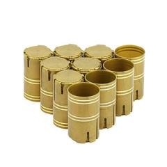 Колпачок Купола Лайт, золотой, 10 шт