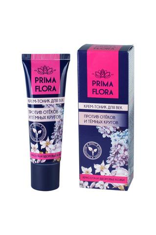Modum Prima Flora Крем-тоник для век против отеков и темных кругов 30г