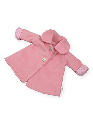 Пальто - Розовый. Одежда для кукол, пупсов и мягких игрушек.