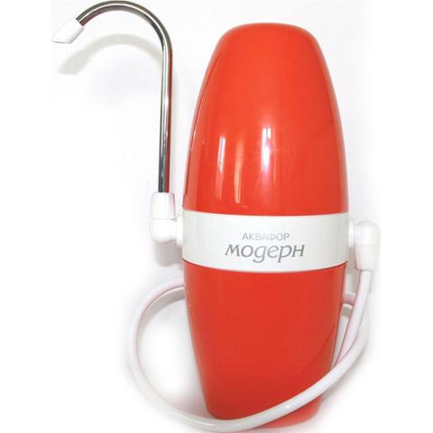 Водоочиститель многоступенчатый Аквафор Модерн (исп.4) (оранжевый), арт.и5343