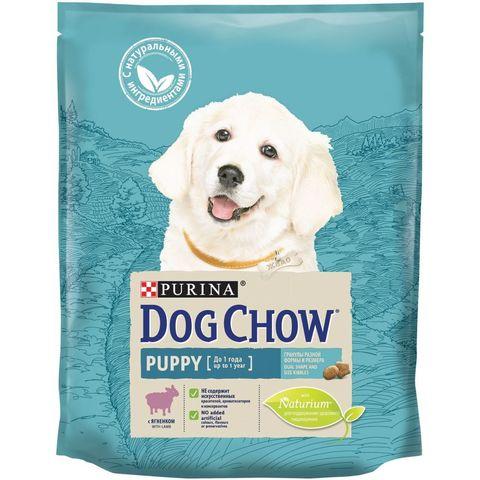 Purina Dog Chow сухой корм для щенков (ягненок) 800 г