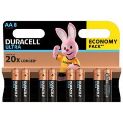 Батарейка DURACELL UltraPower LR6-8BL, 8шт/бл