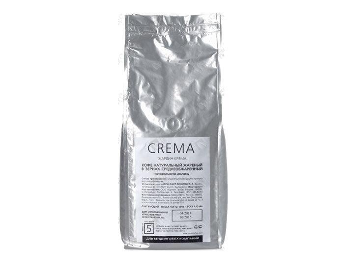 Кофе в зернах Jardin Crema, 1 кг (Жардин)
