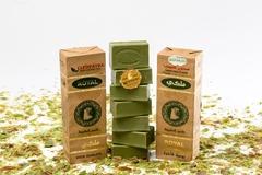 Набор мыла оливкового с лавровым маслом в бумажной упаковке, 7 шт, 1050g ТМ Клеопатра