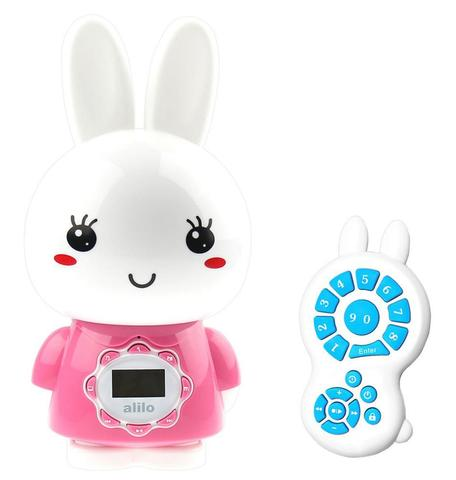 Alilo игрушка музыкальная Большой зайка G7 розовый