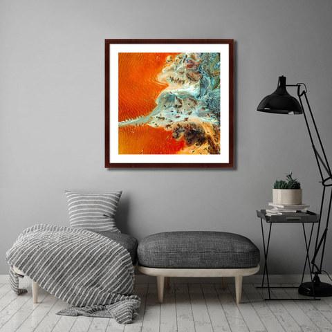 - Earth as the Art №7 (Аэрокосмическая фотосъемка поверхности Земли)