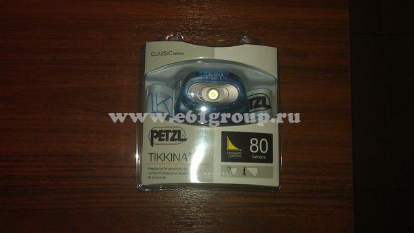 светодиодный фонарь Petzl TIKKINA стоимость