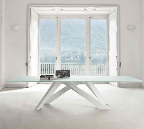 replica table BONALDO AMOND GLASS ( by Steel Arts)