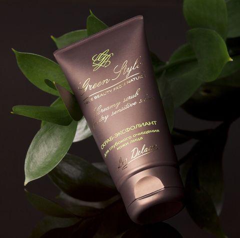 Liv delano Green Style Скраб эксфолиант для глубокого очищения кожи 75г