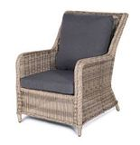 Кресло Гляссе (цвет соломы)
