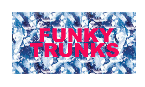 FUNKY TRUNKS Head First Полотенце