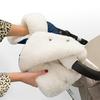 Муфта - рукавички Esspero Christoffer для коляски (Натуральная шерсть)
