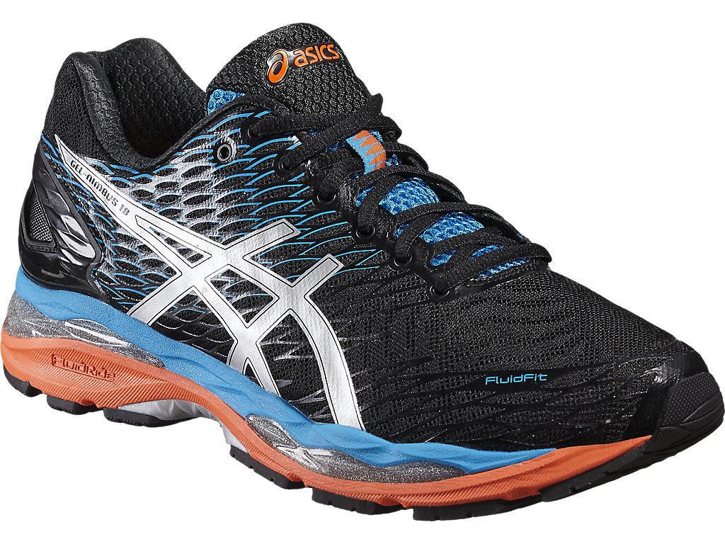 Мужские кроссовки для бега Asics Gel-Nimbus 18 черные T600N 9993 фото