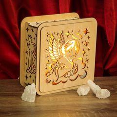 Солевая лампа Ангел 2-2,5кг
