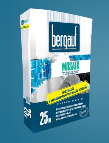 Клей для плитки Бергауф Мозаик 25 кг