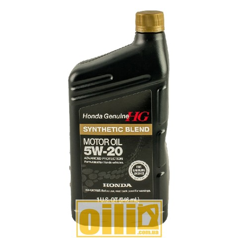 HONDA SYNTHETIC BLEND 5W-20 1qt