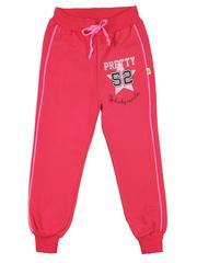24-2015-1 брюки спортивные детские, розовые