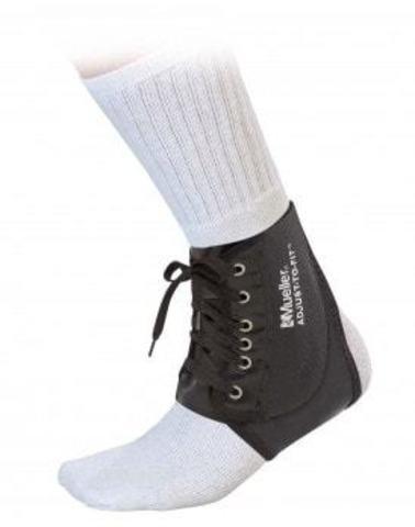 4571 NEW !!!  Adjust-to-fit Ankle brace Бандаж на лодыжку регулируемый Черный