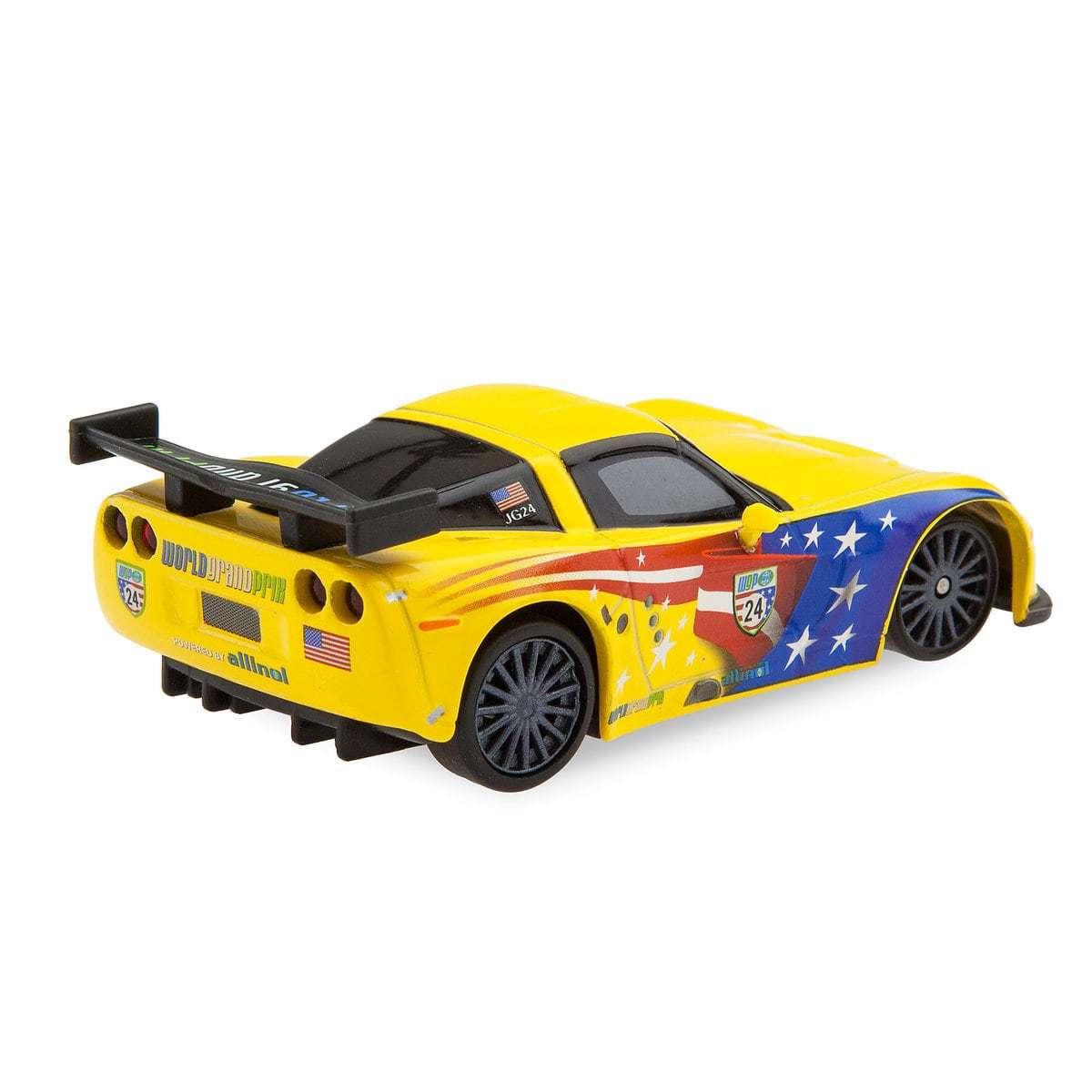 Машинка Джеф Корвет (Jeff Gorvet) 9 см Тачки
