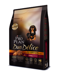 Pro plan duo delice small adult with chicken & rice dog