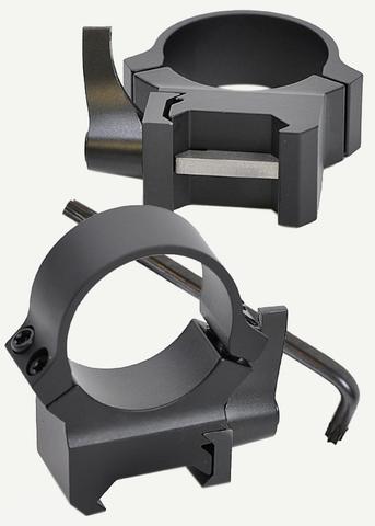 Кольца Leupold QRW на Weaver 30 мм, низкие