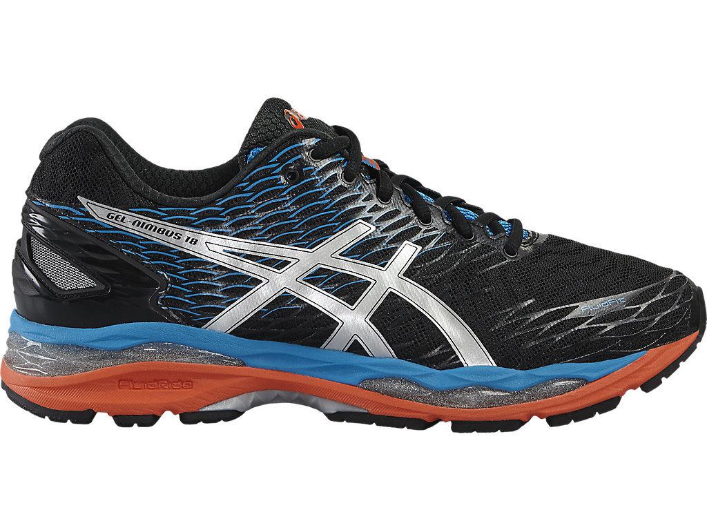Мужские кроссовки для бега Asics Gel-Nimbus 18 черные T600N 9993