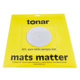 Мат Для Проигрывателя Виниловых Пластинок (Tonar Pure White Perspex Mat 5976)