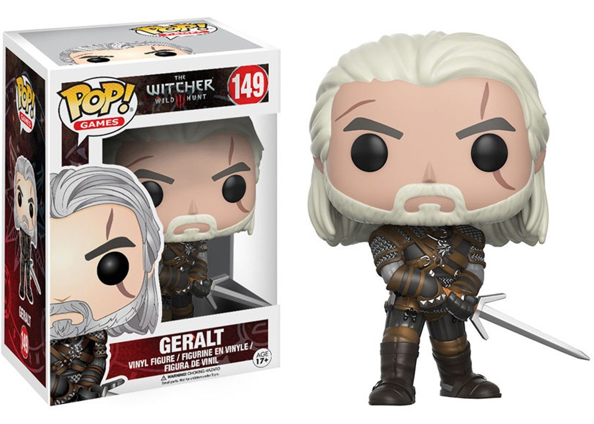 Фигурка Funko POP! Vinyl: Games: The Witcher: Geralt 12134