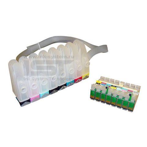 СНПЧ Epson R2880  - картриджная система непрерывной подачи чернил для принтера Epson Stylus Photo R2880 - 8 цветов.