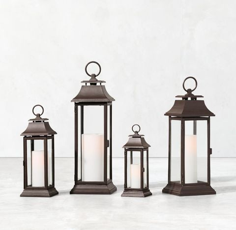 Savoy Lantern - Weathered Bronze