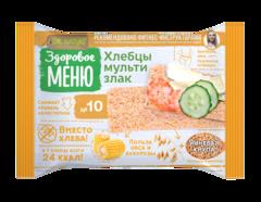 """Хлебцы """"Здоровое меню"""" №10 мультизлаковые 90г"""