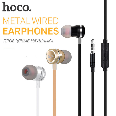 Наушники Hoco M16 Ling Sound Earphone With Mic