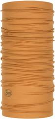 Тонкий шерстяной шарф-труба Buff Wool lightweight Solid Camel