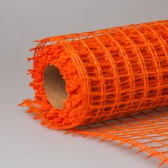 Сетка крупная оранжевый 5м*50см