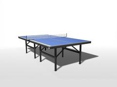 Теннисный стол для помещений полупрофессиональный складной WIPS СТ-ППР (61025)