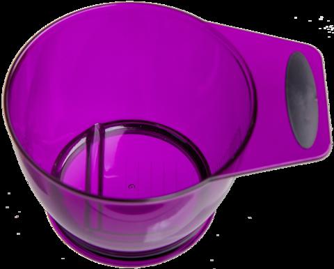 Чаша Ставвер фиолетовая для окрашивания 360мл