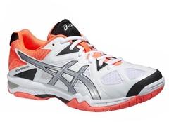 Женские волейбольные кроссовки Asics Gel-Tactic (B554N 0193) белые