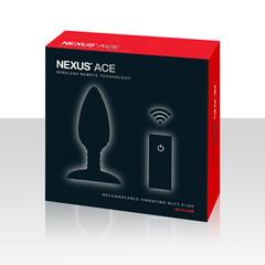 Анальная пробка для ношения с вибрацией Nexus ACE M (4 х 10 см.)