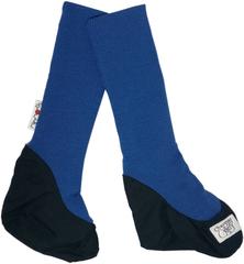 Пинетки высокие ManyMonths, Синий (шерсть мериноса 100%, 'калоша': полиэстер 100%)