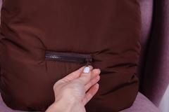 Зимний конверт мешок Скай (коричневый)